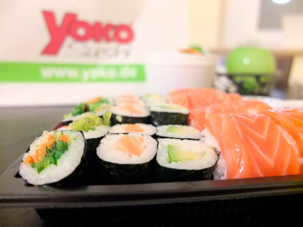 yoko sushi foodpilot. Black Bedroom Furniture Sets. Home Design Ideas