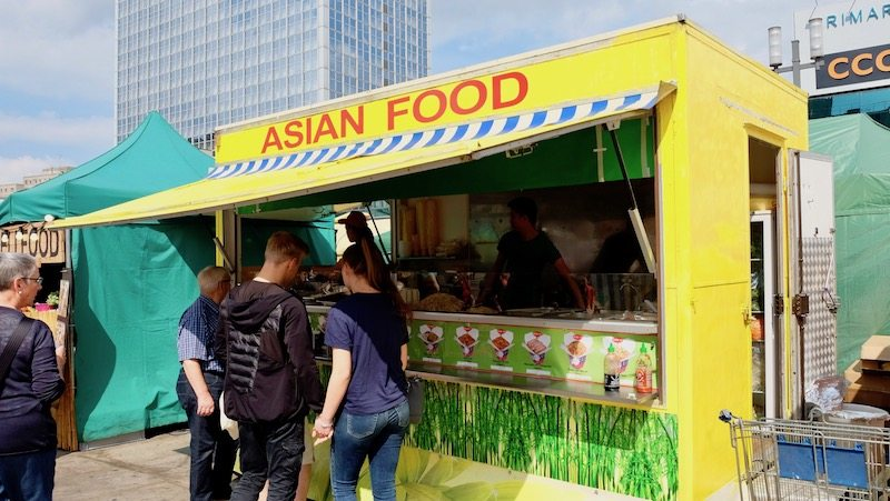 Asian Food Imbisswagen auf dem veganen Sommerfest 2017 in Berlin