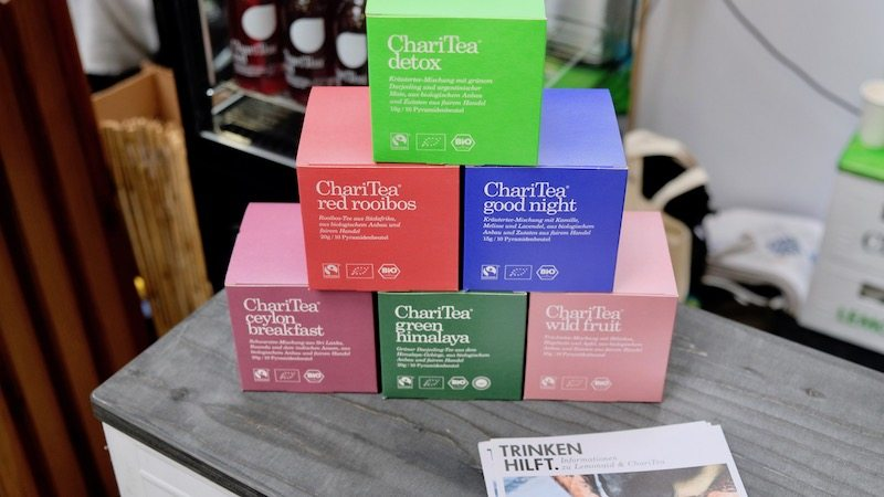 ChariTea auf der Next Organic Gastro Show in Berlin