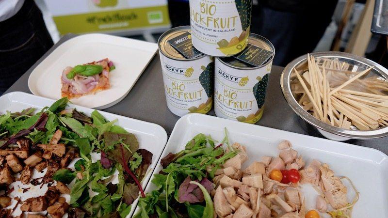 Jacky F Jackfruits auf der Next Organic Gastro Show in Berlin