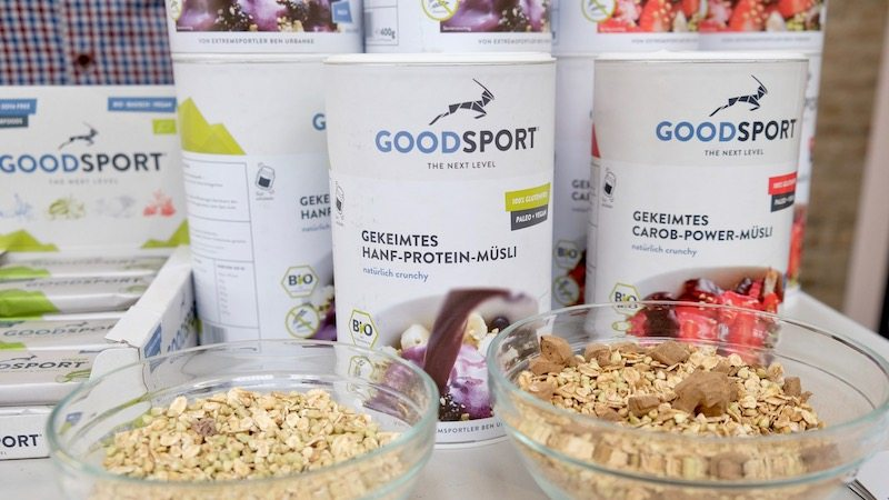 Goodsport auf der Next Organic Gastro Show in Berlin