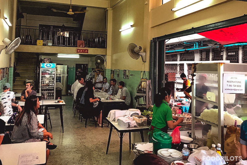Restaurant Sitzplaetze Jay Fai